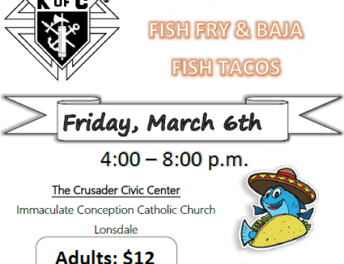 KC Fish Fry March 6, 2020