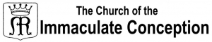 Immaculate Conception Catholic Church Logo